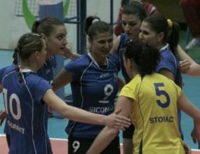 Левски-Сиконко обърна ЦСКА с 3:2 в женското дерби и запази първото си място в класирането