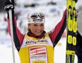 Майдич спечели старта на 30 км за жени в ски-бягането