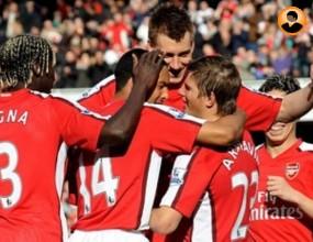 Арсенал изригна срещу Блекбърн, Аршавин бродира