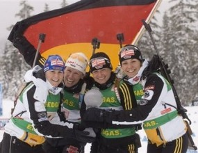 Пореден триумф за германските биатлонистки