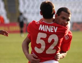 Йордан Минев аут за два мача