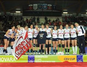 Новара спечели Купата на CEV при жените