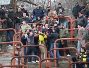 Фенове на Ботев искали бойкот на мачовете
