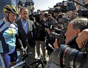 Ларс Армстронг се нарани след падане в Испания