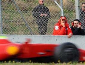 Шумахер ще съветва Ферари в Австралия и Малайзия