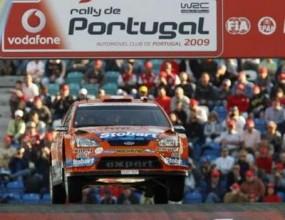 Хенинг Солберг най-бърз след суперспециалния етап в Рали Португалия, Грьонхолм шести