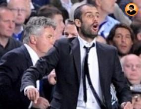 Гуардиола се смее:И с човек повече Челси се бранеше