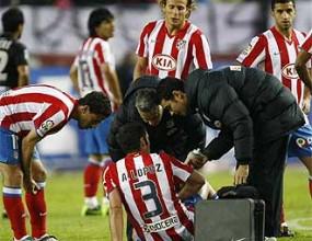 Атлетико излекува опитен защитник