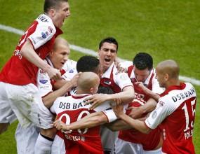 Аз Алкмаар завърши с победа сезона в Холандия