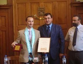 Веселин Топалов стана почетен гражданин на Пловдив
