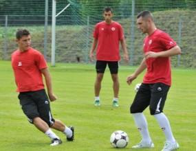 Орлинов и Вуич с първа тренировка