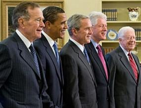 Бейзболът събира 5-имата живи президенти на САЩ