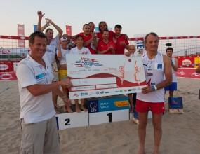 Благотворителен турнир M-Tel Beach Masters Charity в полза на домове за деца в град Варна