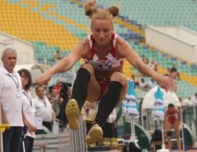 Петя Дачева с победа в тройния скок с рекорд, Живко Петков трети