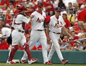 Ас на Сейнт Луис поведе по победи в MLB