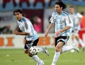 Аржентина ще атакува с Меси и Тевес срещу Бразилия