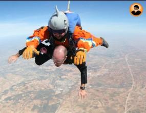 Skydive Plovdiv организира парашутен скок с параолимипиец