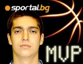 Васил Кьосев – MVP на VI кръг на НБЛ
