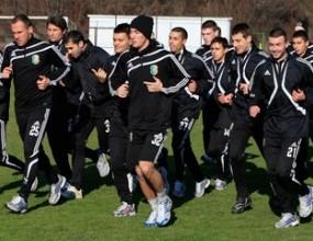 Литекс направи първа тренировка в Турция