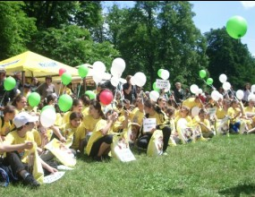 Миниволейбол и Nesquik омагьосаха децата в Борисовата градина