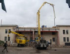 Ремонтът на стадиона в Ловеч върви по график