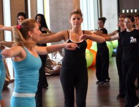 Тренирай с настроение: зумба