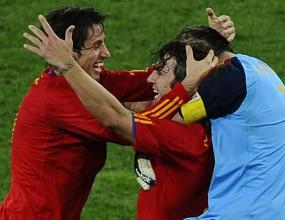 Защитата на Испания подобри рекорд