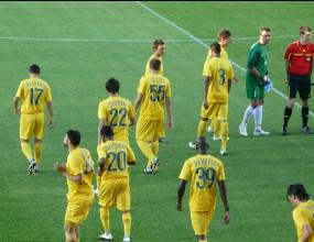 Левски за първи път с новите си жълти екипи