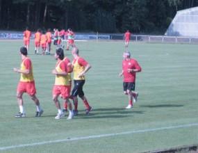 ЦСКА се поти здраво в германската жега (видео)