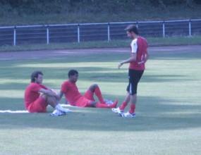 Грило и Нелсън тренират усилено заедно с новия наставник (видео)