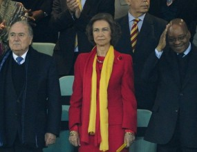 Куп знаменитости ще уважат финала на Мондиал 2010