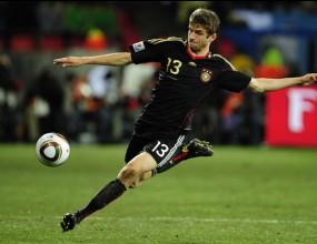 Томас Мюлер бе избран за играч на мача между Уругвай и Германия
