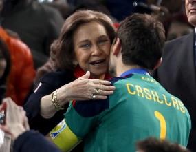 Кралското семейство поздрави отбора на Испания за успеха