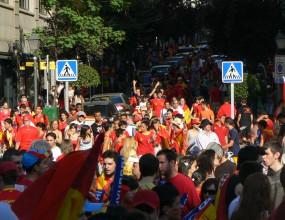 Испания празнува (любителски снимки)
