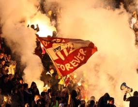 Полицията преби фенове на ЦСКА, гони ултрасите повече от километър из София