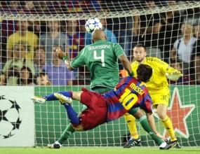 Шампионска лига, крайни резултати