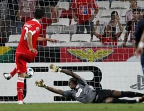 Бенфика се завърна в Шампионската лига с успех (видео)