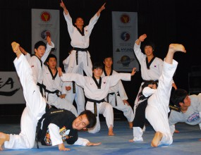 Феноменално Таекуондо шоу за старта на новия тренировъчен сезон