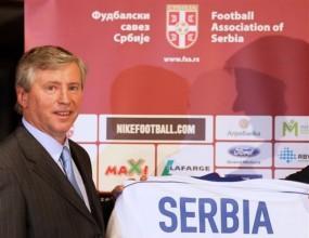 Представиха Петрович като селекционер на Сърбия