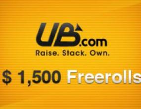 Нови $10,500 във ФРИЙРОЛИ от PokerNews и UB