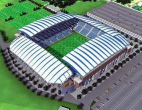 Стинг откри първия готов стадион за Евро 2012