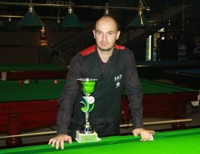 Венцислав Даскалов спечели първия снукър турнир за сезона