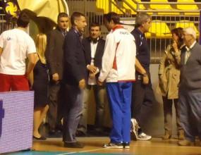 Радо Стойчев свидетел на сблъсъците на агитките в Торино