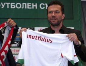 Йордан Лечков: Дайте шанс на Матеус