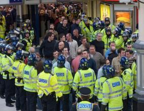 11 арестувани след лондонско дерби