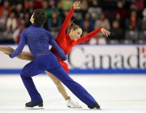 "Ванеса Кроун и Пол Поаре победители на ""Скейт Канада"""