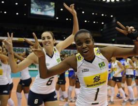 Бразилия, САЩ, Япония и Русия завършиха без загуба първата фаза на СП по волейбол за жени