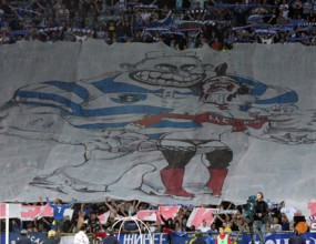 20 000 участват в хореографията на Левски срещу Лил