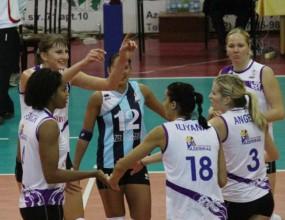 Илияна Петкова и Азеррейл разгромиха Галатасарай с 3:0 на турнир в Баку