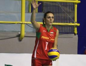 Диана Ненова резерва при успех на Рабита над шампиона на Русия